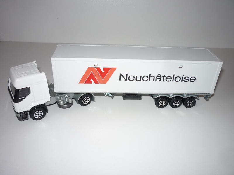 "N°3055 Renault Premium 1x 40"" Container 28822357ny"