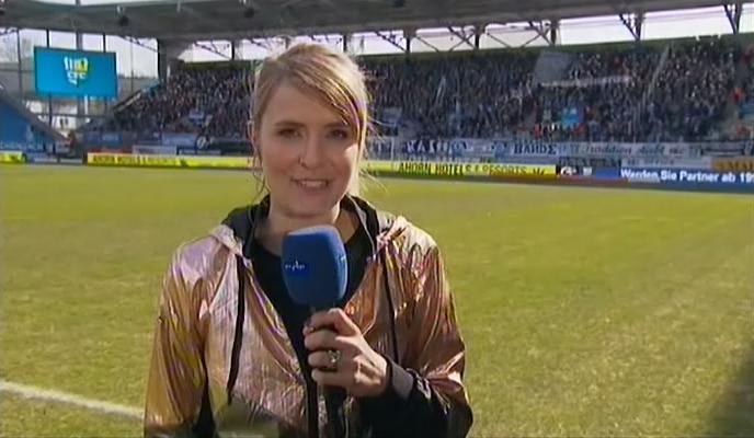 Müller spirra freund stephanie Sportschau Moderatorin