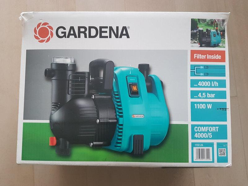 gardena hauswasserautomat comfort 4000 5e 1100w garten. Black Bedroom Furniture Sets. Home Design Ideas