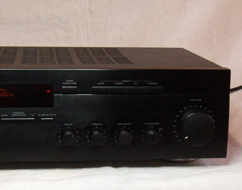 yamaha hifi receiver rx 385 stereo receiver yamaha rx 385. Black Bedroom Furniture Sets. Home Design Ideas