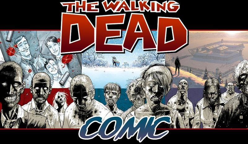 Walking Dead Comic Actionfiguren