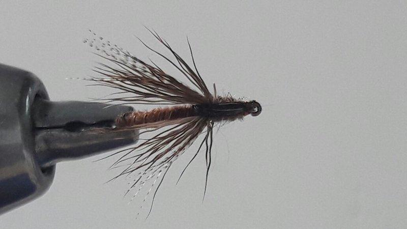 Hakengröße Trockenfliege Bindeanleitung Fliegenfischen