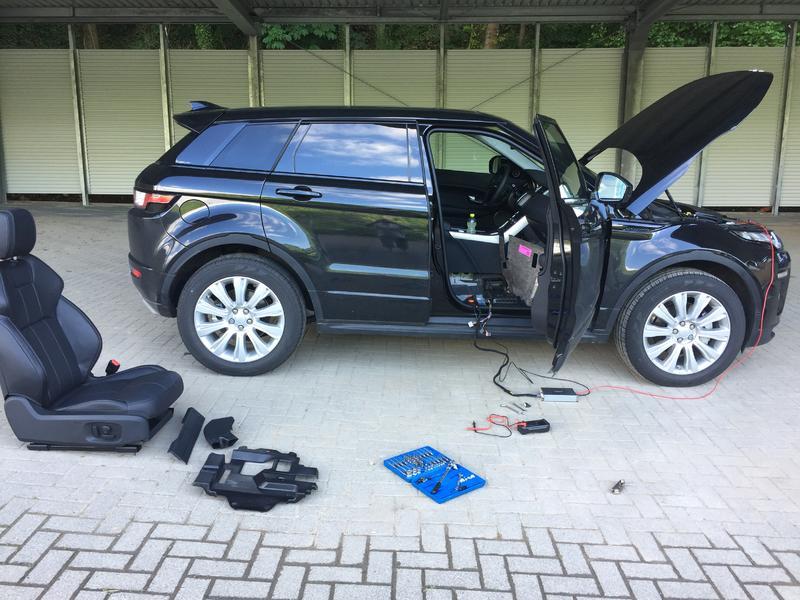 instalar cámara aparcamiento trasero evoque pure Tech 2014 29246042pc