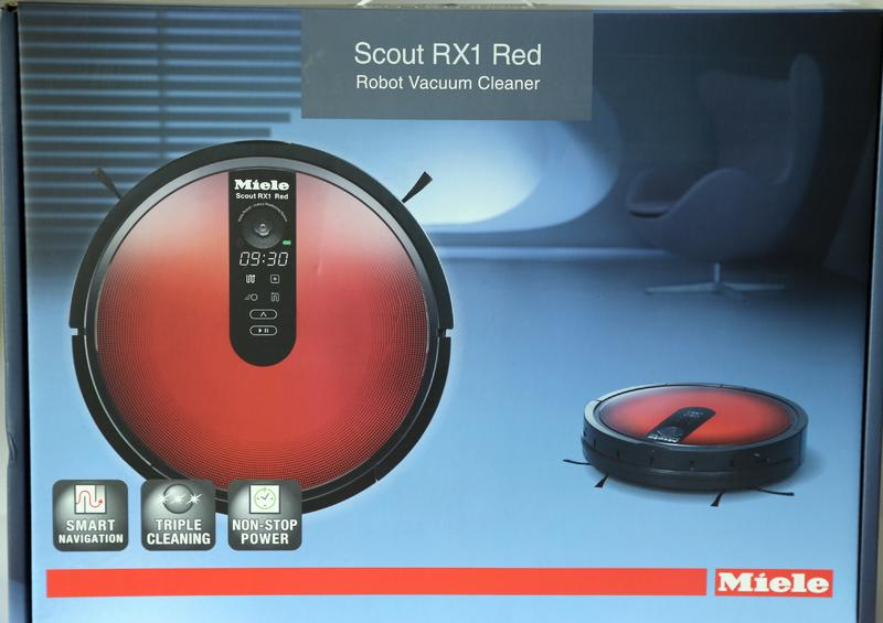 miele sjql0 scout rx1 red roboter staubsauger neu ebay. Black Bedroom Furniture Sets. Home Design Ideas