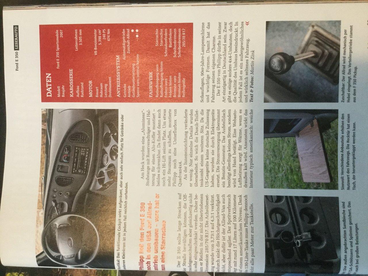 Chetubis Ford Sportsmobile XL - Viermalvier.de, das Geländewagenportal