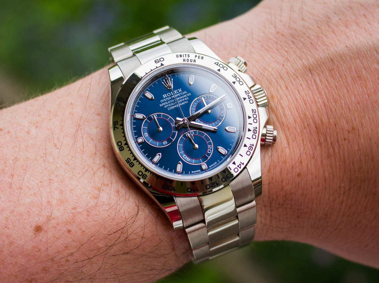 116509 White Gold And Blue Dial A Great Combo Rolex Forums
