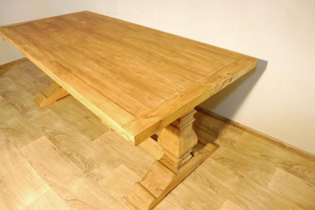 Tisch esstisch wohnzimmertisch in weichholz landhausstil for Wohnzimmertisch und esstisch in einem