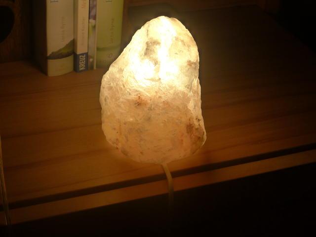 Salzkristall-Lampen - Wellensittich Forum
