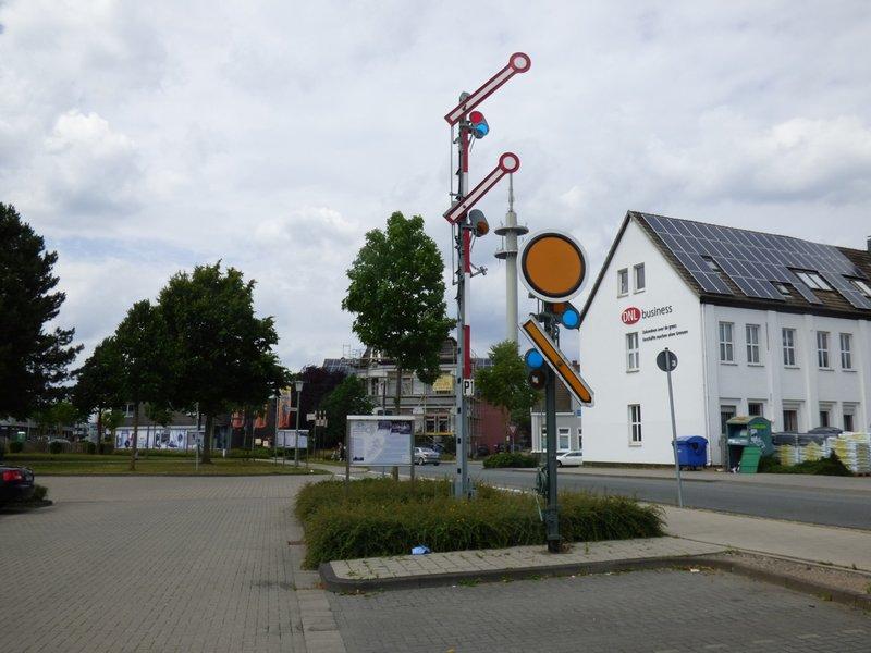 Burgsteinfurt, Bahnhof, Stadt und Schloß 29705673ol