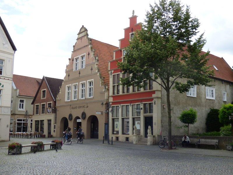 Burgsteinfurt, Bahnhof, Stadt und Schloß 29705677bm