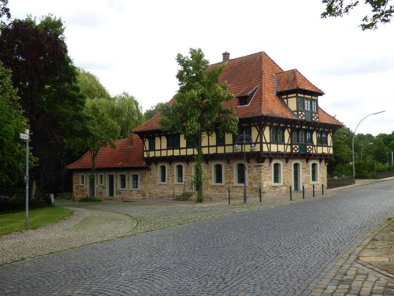 Burgsteinfurt, Bahnhof, Stadt und Schloß 29705741ch