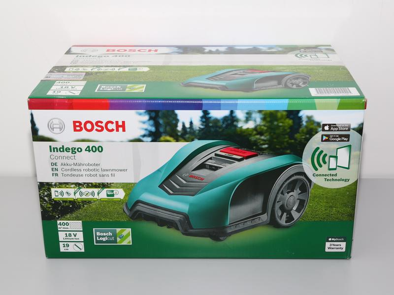 bosch indego 400 connect roboter rasenm her m hroboter 18v neu ebay. Black Bedroom Furniture Sets. Home Design Ideas