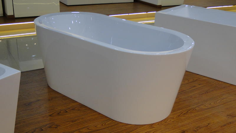freistehende badewanne mirano von acqua alegra 190cm wei xxl bathtub 190x90 ebay. Black Bedroom Furniture Sets. Home Design Ideas