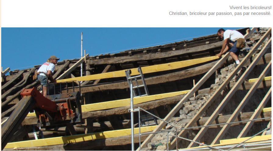 Vernieuwen, renoveren, opknappen van een traditioneel dak
