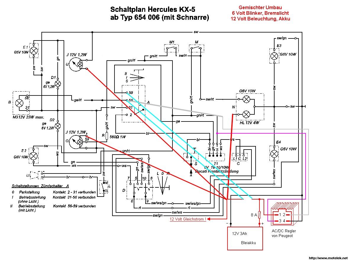K50RL mit 12volt Voll LED • 50er-Forum