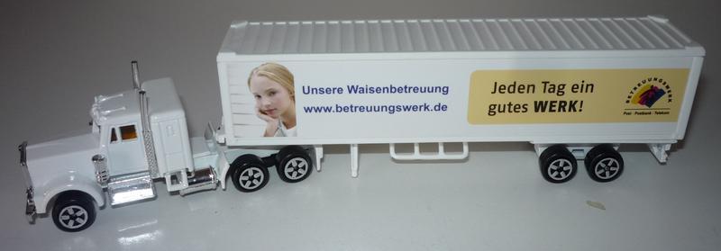N°604 Kenworth W900 + Semi Container 29847276na
