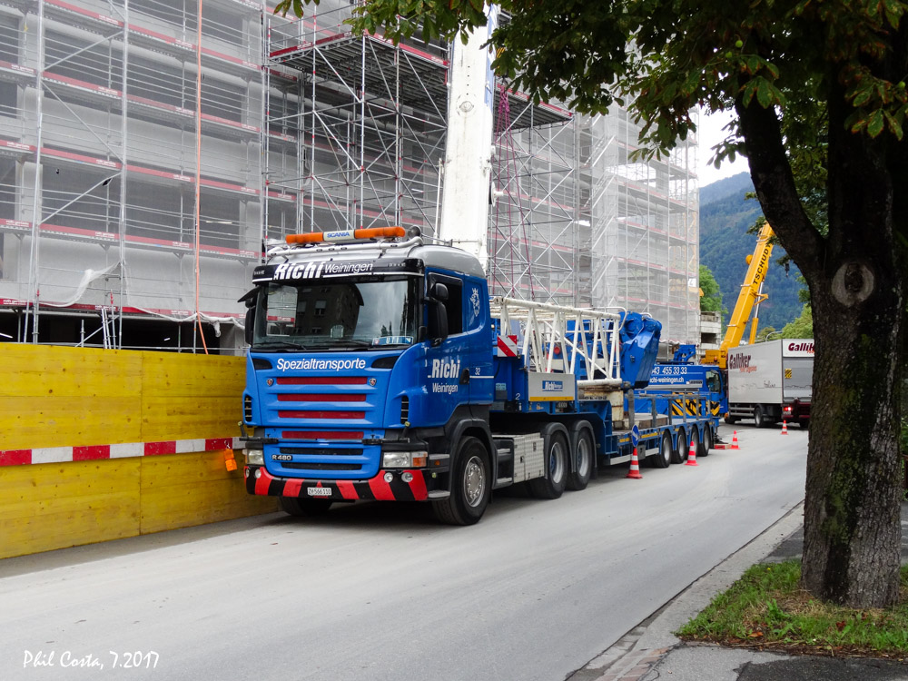 Richi weiningen schweiz hansebubeforum for Koch transporte