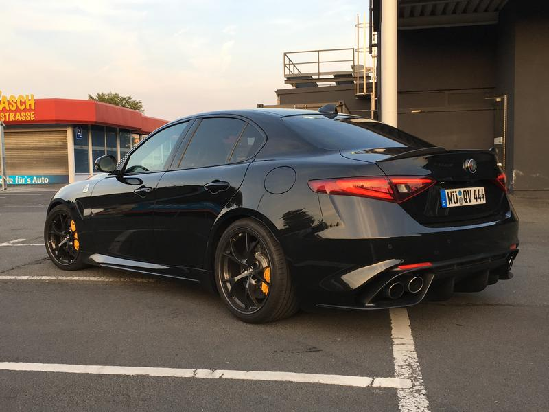 Vulcano Volcano Black Metallic Giulia Owners Picture
