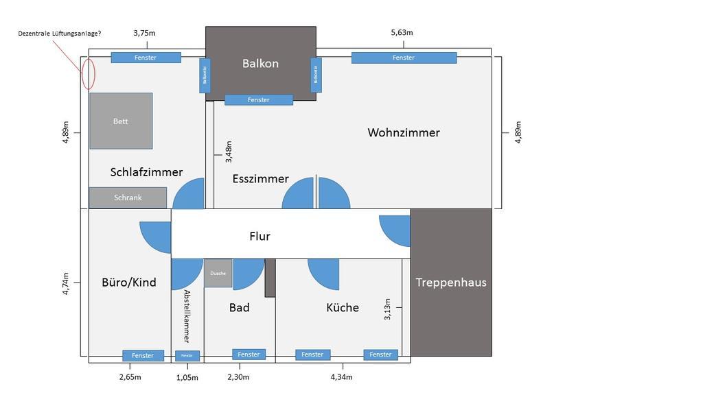 dezentrale l ftungsanlage f rs schlafzimmer. Black Bedroom Furniture Sets. Home Design Ideas
