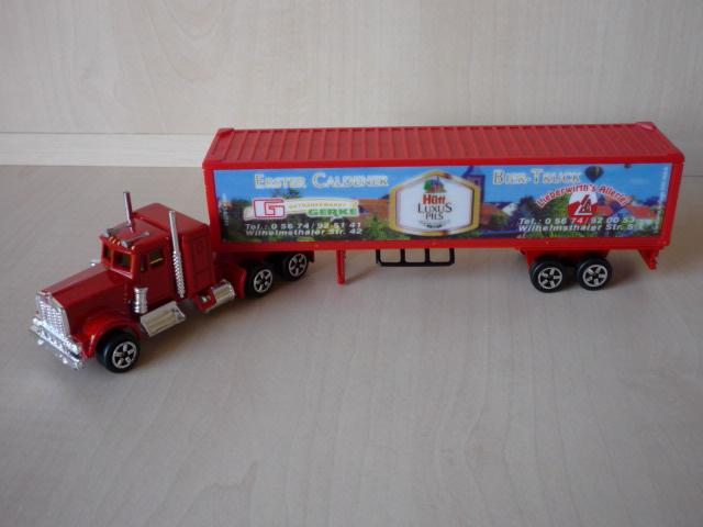 N°604 Kenworth + semi remorque container  ( version lisse ) 3020297