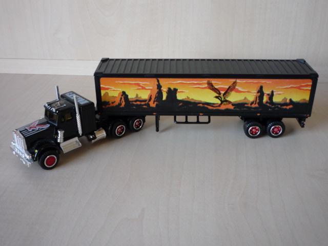 N°604 Kenworth + semi remorque container  ( version lisse ) 3020299
