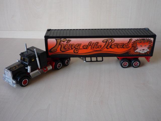 N°604 Kenworth + semi remorque container  ( version lisse ) 3020300