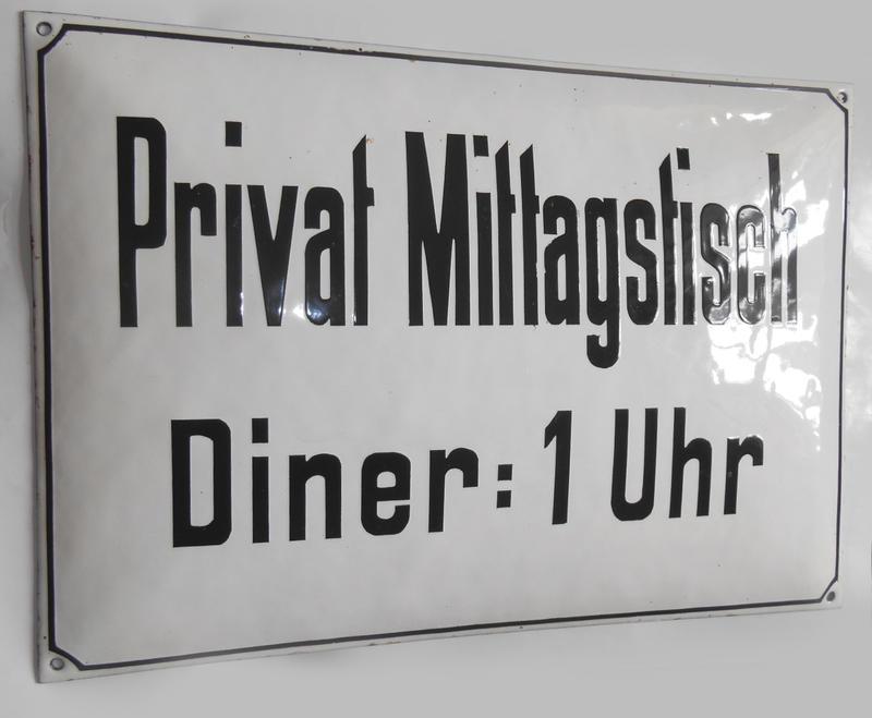 Angebot Schweres Einzelstück Um 1900 Diner 1 Uhr Privat