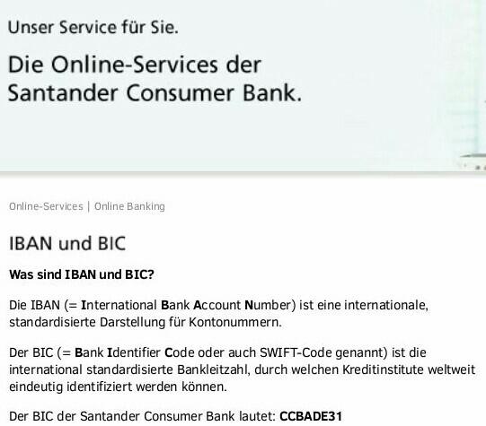 Santander Consumer Bank wird nicht erkannt - StarMoney Community on