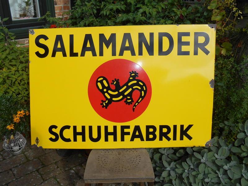 sports shoes 00d43 88338 Salamander Schuhe   Schilderjagd, alte Emailleschilder und ...