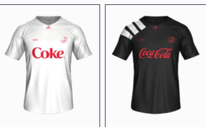 Coke Trikot