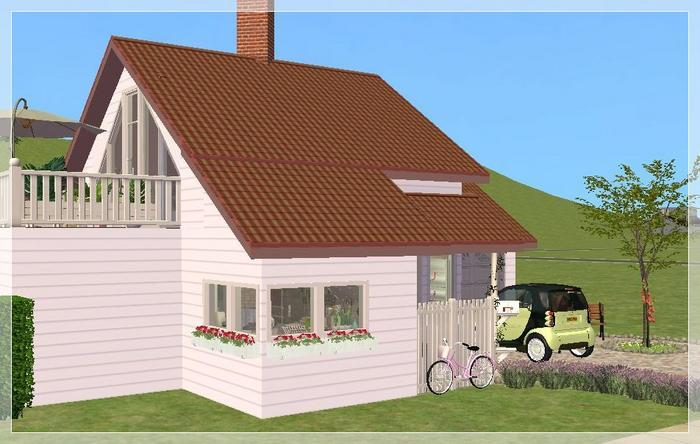 Grundriss villa sims 2  Sims 4 Hauser Zum Nachbauen ~ Beste Bildideen zu Hause Design
