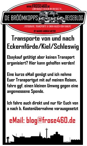 Transporte ab/an Eckernförde
