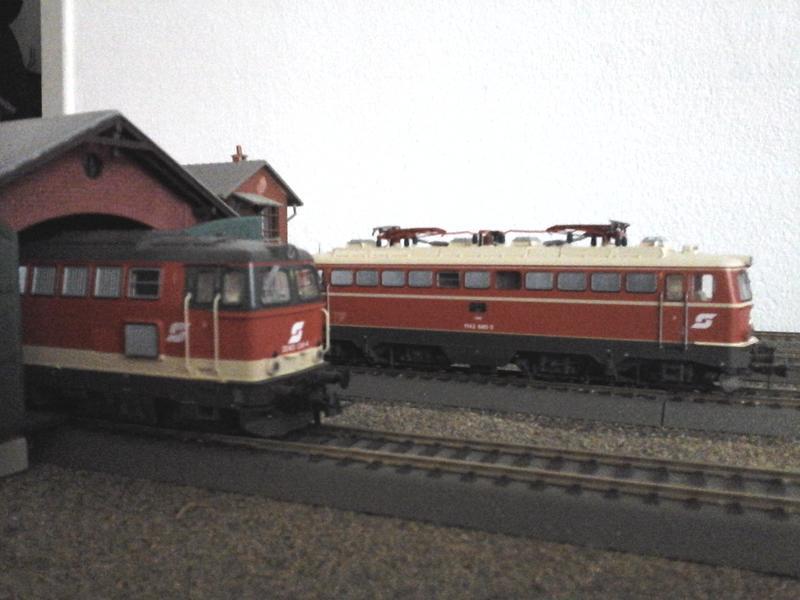 Züge der ÖBB so zwischen etwa 1970 und 1980 30853680bv
