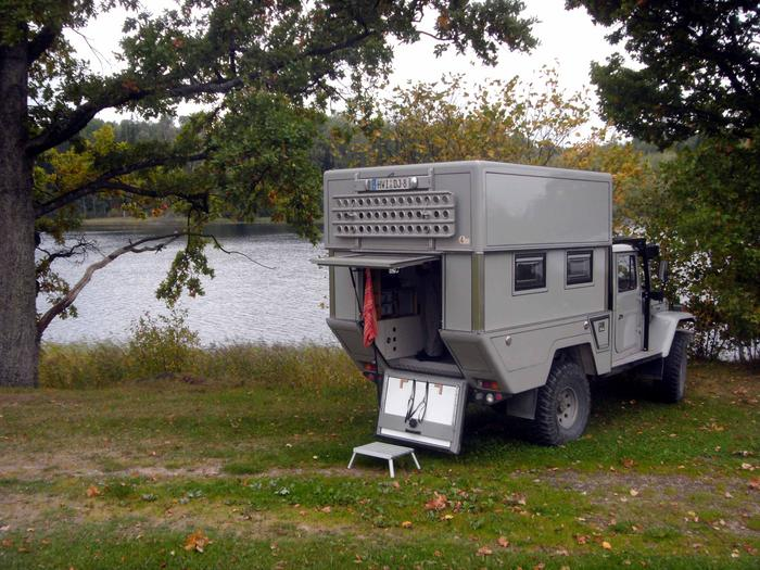 Camper plans: Husky design pickup camper shell – Build Your Own Boat