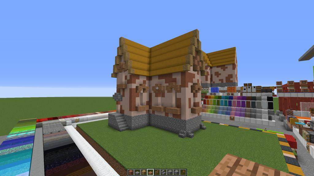 Reds Bauecke Seite Guides Terraconia Dein Deutscher - Minecraft haus bauen grob