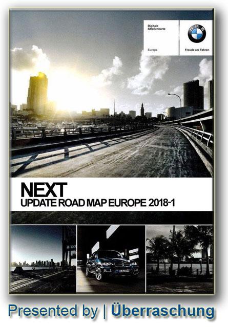 2018-1 / BMW Navigation Update USB Road Map Europe NEXT 2018-1 ...