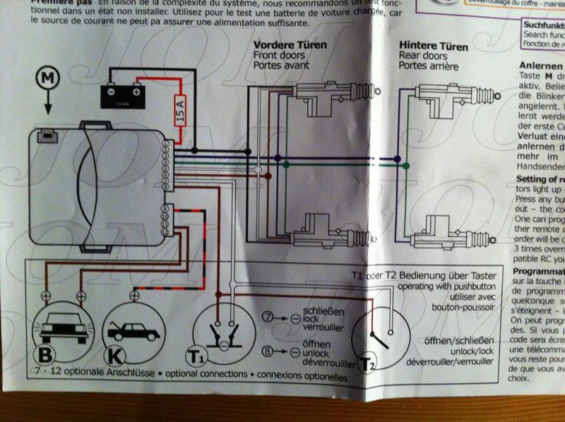 nachgerüstete Jom ZV Laderaum separat schalten - Tipps und Tricks ...