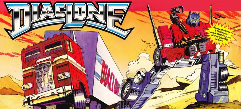 Takara Diaclone Transformers