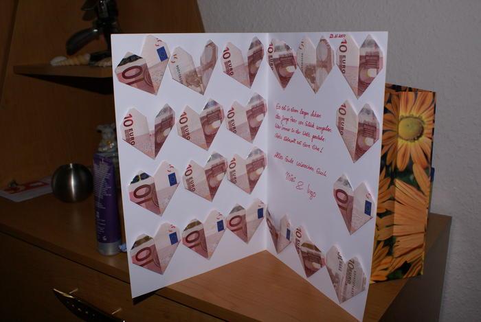 ... Hochzeitsgeschenke 150 000 Geld Pictures to pin on Pinterest