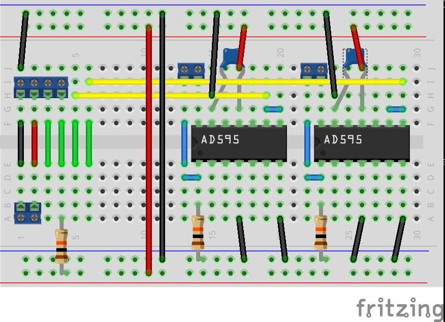 Schaltung für Lüftersteuerung u. Temperaturmessung - Roboternetz ...