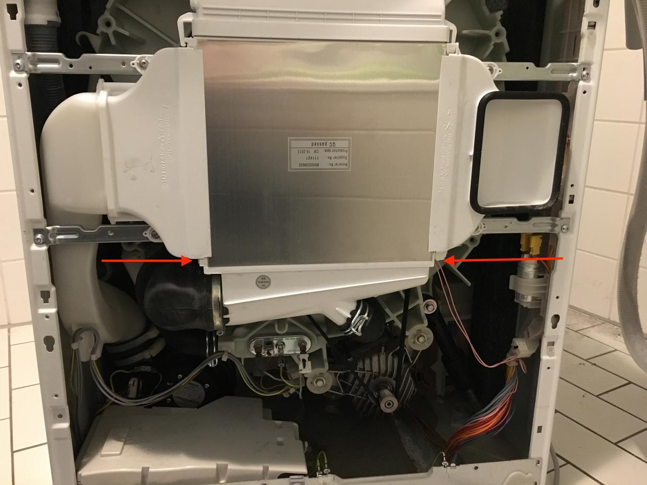 Siemens iq wd h wärmepumpe leckt enorm u elektronik