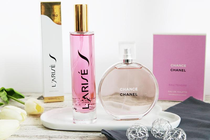 Parfüm Liste Von Larisé Im Vergleich Chanel Chance Eau Tendre