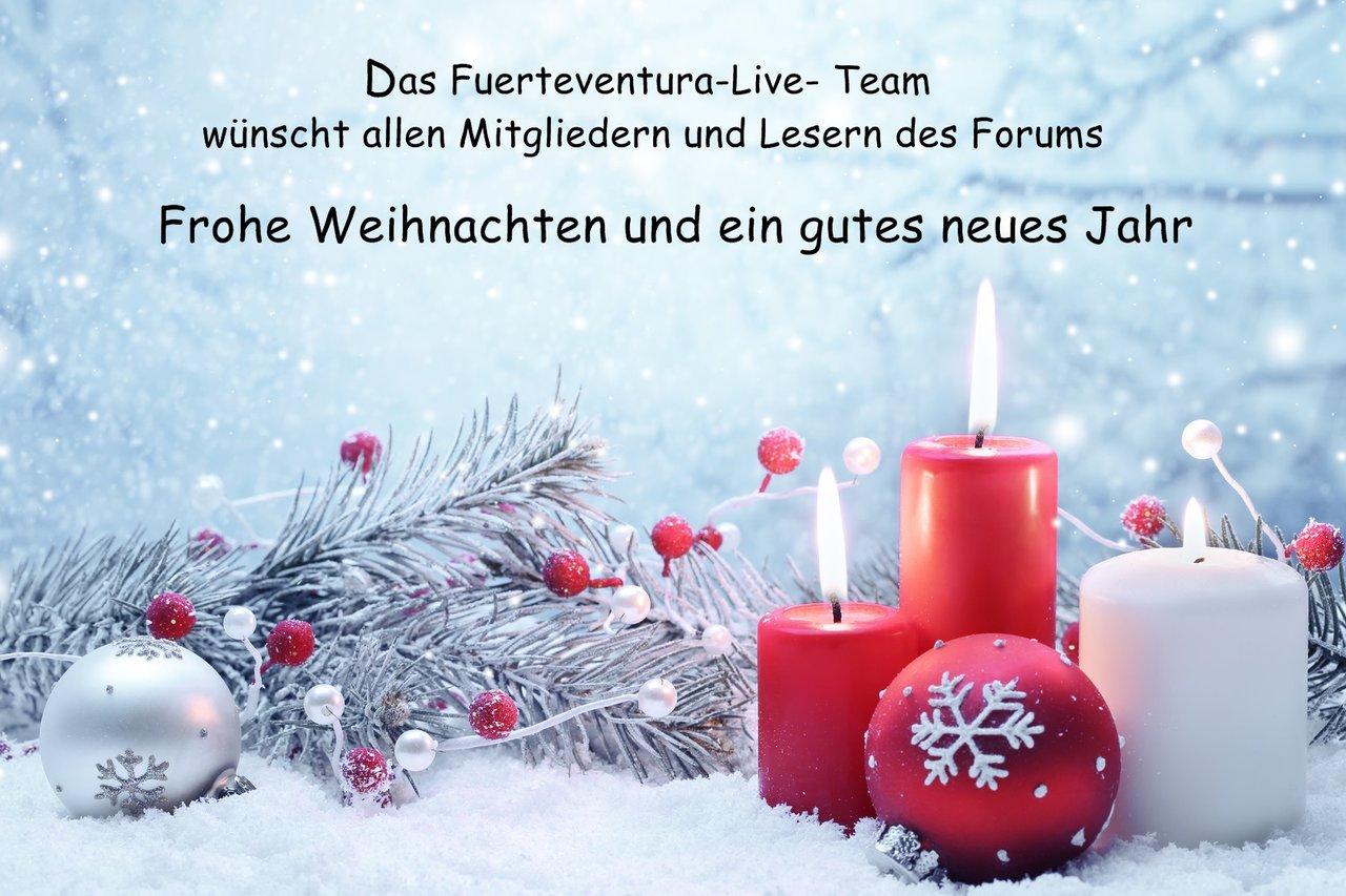 Frohe Weihnachten & einen guten Rutsch ins neue Jahr 2018 ...