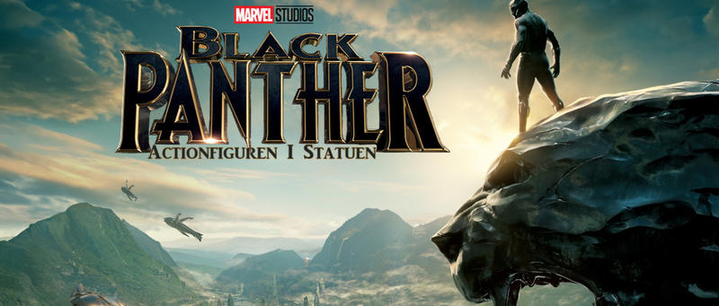 Black Panther Actionfiguren und Statuen