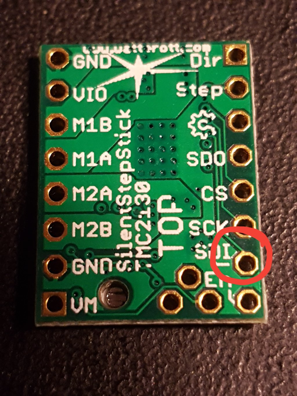 Use tmc2130 without spi in stealthchop - Archive of Tom's 3D Forums