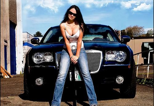 USA Hot Rod Motor Big Block Cars US Muscle Car Hemi Oldtimer Amerika