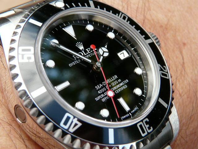 Interessantes Thema Uhren Hier Rolex Mit Custom Parts Wie Seht