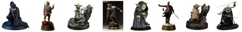 Star Wars Statuen