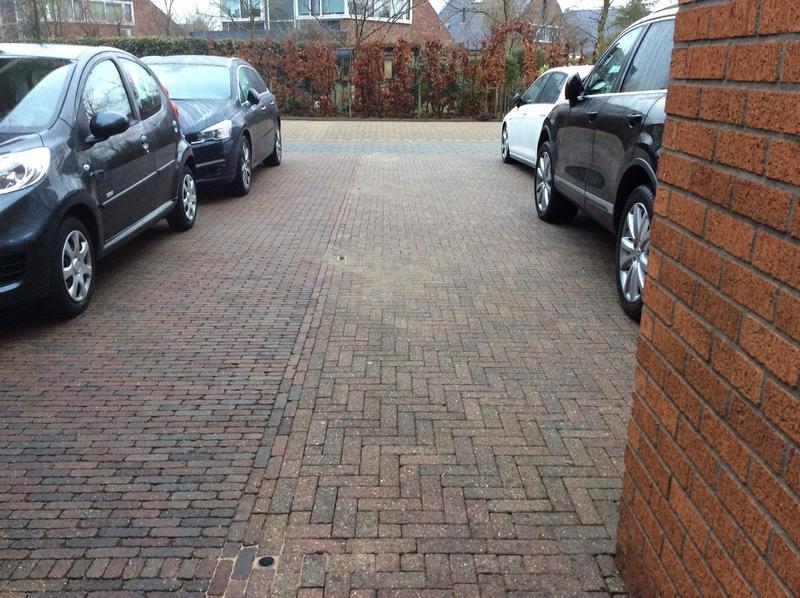 buren parkeren op mijn oprit
