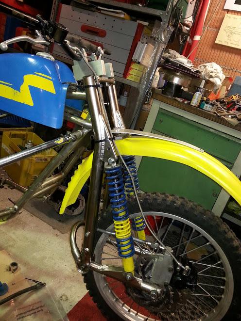Die Blaue Wasp Yamaha Bj. 1981 32221307dy